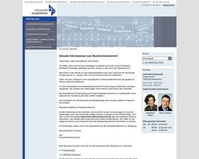 Screenshot (small) http://www.schurwald-musikschule.de