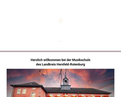 Screenshot (small) http://www.musikschulebadhersfeld.de