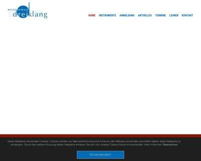 Screenshot (small) http://www.musikschule-dreiklang-vbi.de