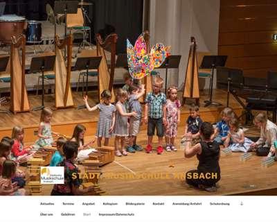 Screenshot (small) http://www.musikschule-ansbach.de