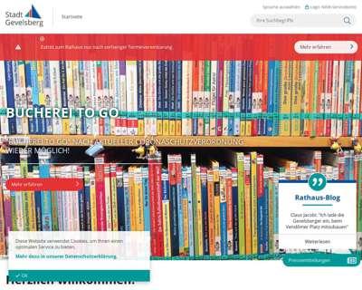 Screenshot (small) http://www.gevelsberg.de