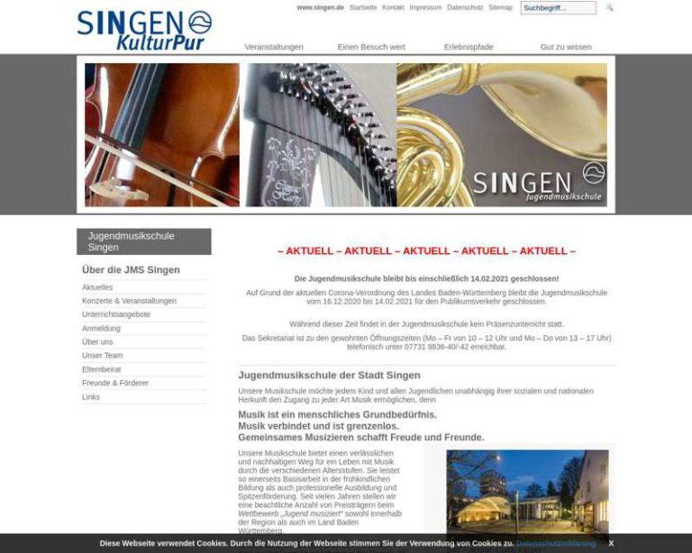 Screenshot (middle) http://www.jugendmusikschule-singen.de