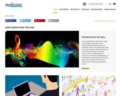 Screenshot (small) http://www.musikschule.saarbruecken.de