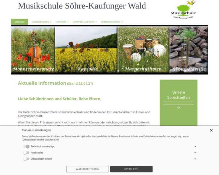 Screenshot (middle) http://www.musikschule-skw.de