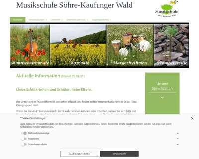 Screenshot (small) http://www.musikschule-skw.de
