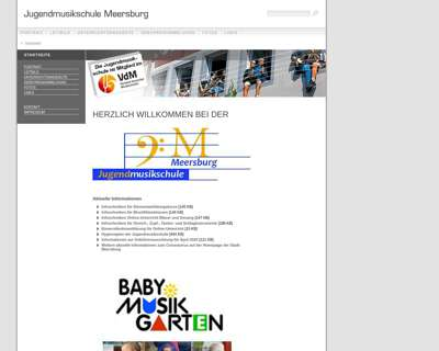 Screenshot (small) http://jugendmusikschule.meersburg.de/