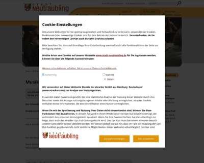 Screenshot (small) http://www.neutraubling.de/kultur-und-freizeit/musikschule/