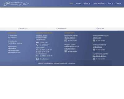 Screenshot (small) http://www.muenster.org/musikschule-nienberge