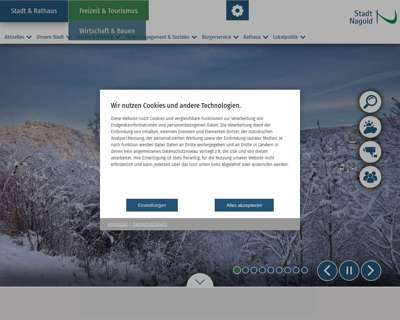 Screenshot (small) http://www.nagold.de