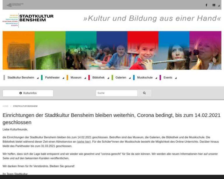 Screenshot (middle) http://www.stadtkultur-bensheim.de