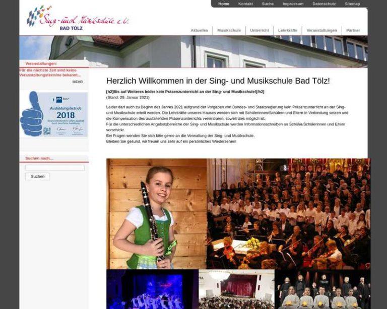 Screenshot (middle) http://www.musikschule-toelz.de