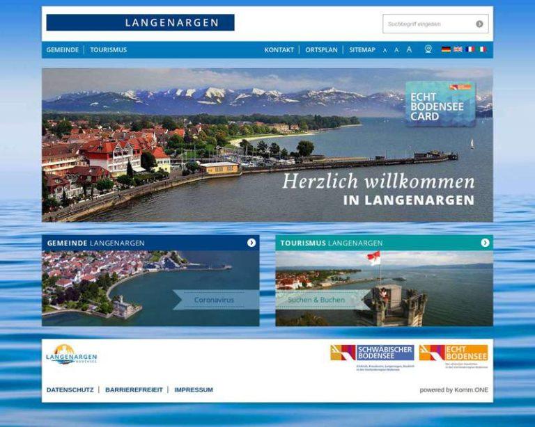 Screenshot (middle) http://www.langenargen.de
