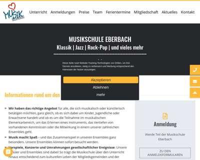 Screenshot (small) http://www.musikschule-eberbach.de