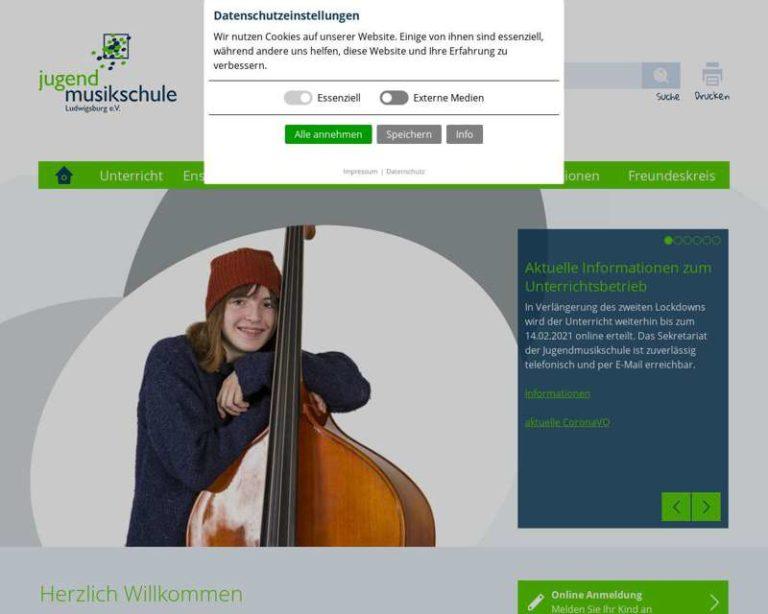 Screenshot (middle) http://www.jms-lb.de