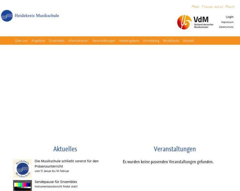 Screenshot (middle) http://www.heidekreis-musikschule.de
