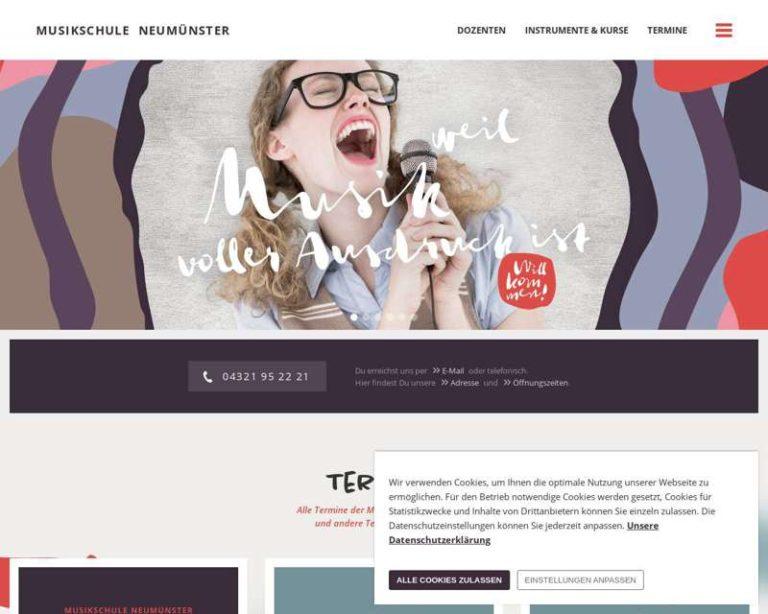 Screenshot (middle) http://www.musikschule-neumuenster.de