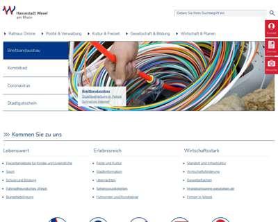 Screenshot (small) http://www.wesel.de