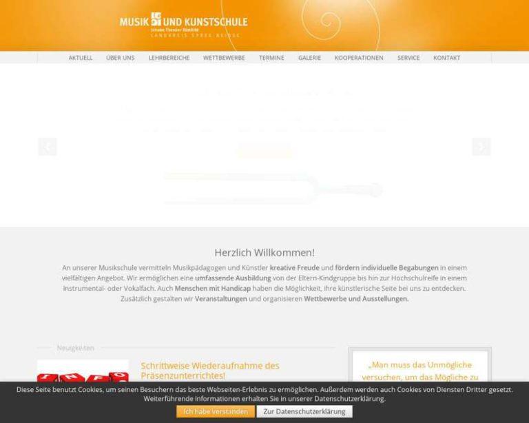 Screenshot (middle) http://www.musikschule-spn.de