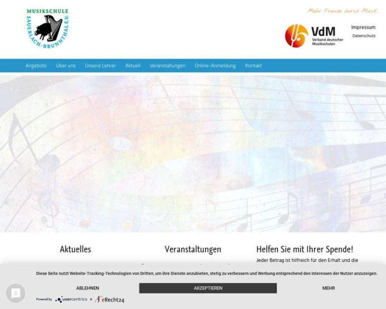 Screenshot (middle) http://www.musikschule-sauerlach-brunnthal.de