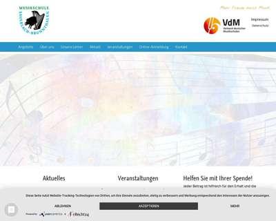 Screenshot (small) http://www.musikschule-sauerlach-brunnthal.de