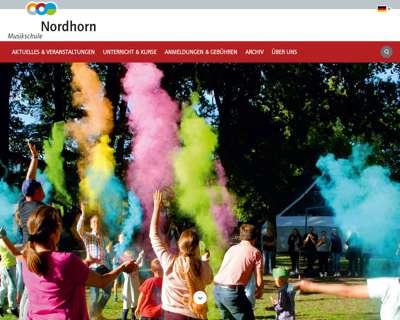 Screenshot (small) http://www.musikschule-nordhorn.de