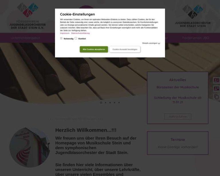 Screenshot (middle) http://www.stein-musik.de