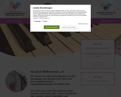 Screenshot (small) http://www.stein-musik.de