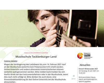 Screenshot (small) http://www.musikschule-tecklenburger-land.de