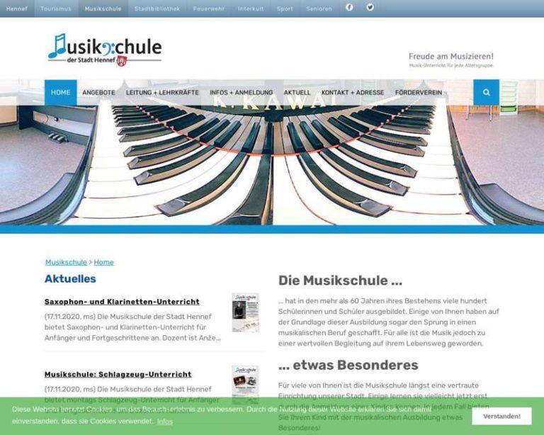 Screenshot (middle) http://www.musik-in-hennef.de