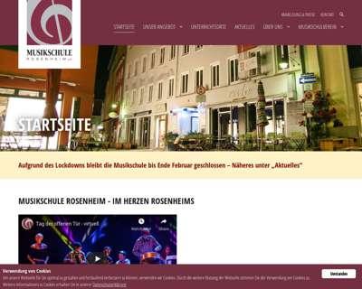 Screenshot (small) http://www.musikschule-rosenheim.de