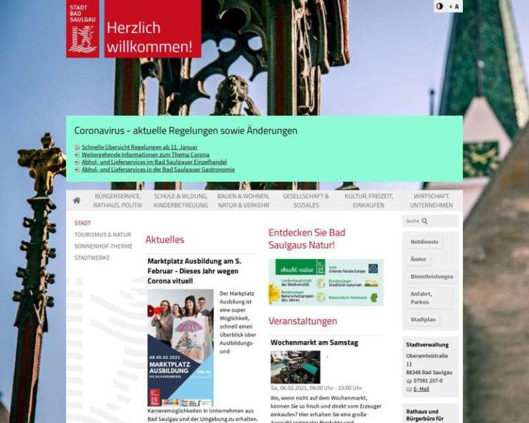 Screenshot (middle) http://www.bad-saulgau.de