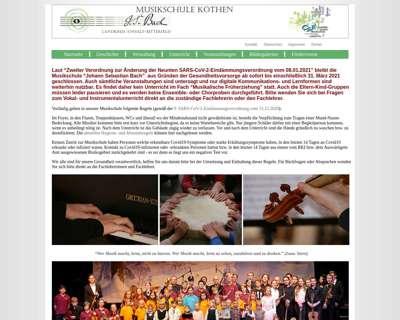 Screenshot (small) http://www.musikschule-johann-sebastian-bach.de