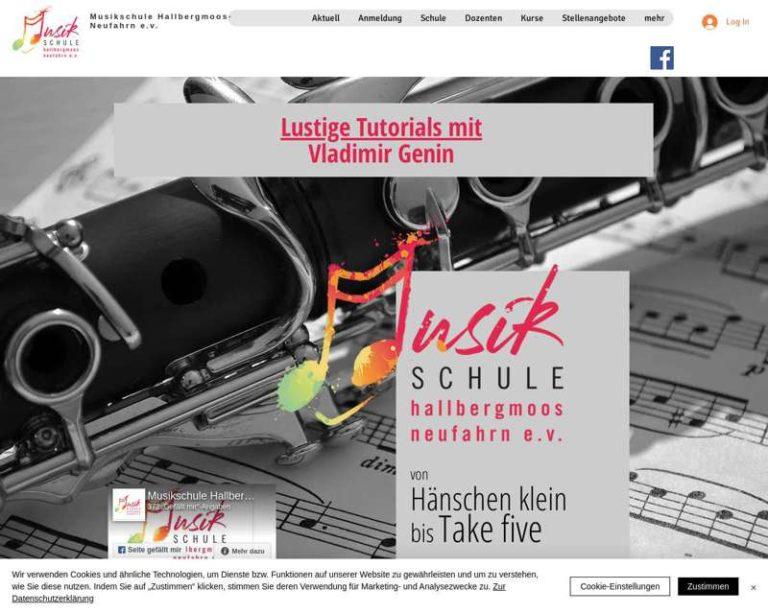 Screenshot (middle) http://www.musikschule-hn.de