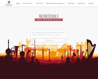 Screenshot (small) http://www.musikschule-koengen-wendlingen.de