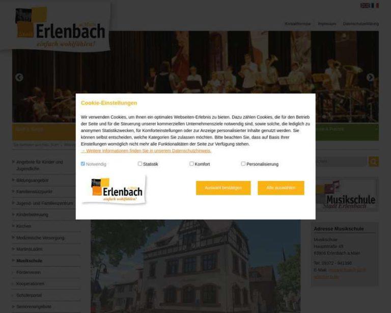 Screenshot (middle) http://www.musikschule-stadt-erlenbach.de