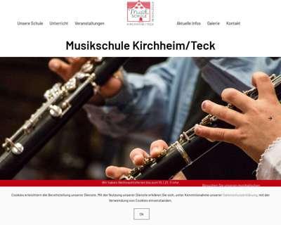 Screenshot (small) http://www.musikschule-kirchheim.de