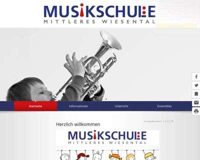 Screenshot (small) http://www.musikschule-mittleres-wiesental.de