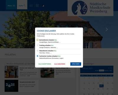 Screenshot (small) http://www.musikschule-stadtweinsberg.de