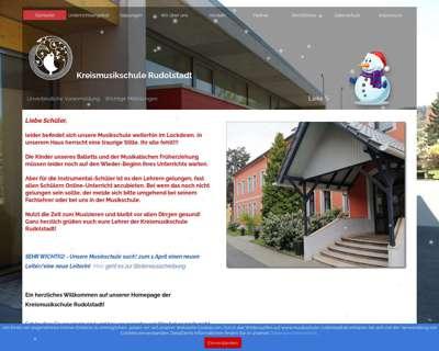 Screenshot (small) http://www.musikschule-rudolstadt.de