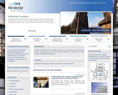 Screenshot (small) http://www.herdecke.de
