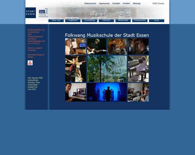 Screenshot (middle) http://www.fms.essen.de