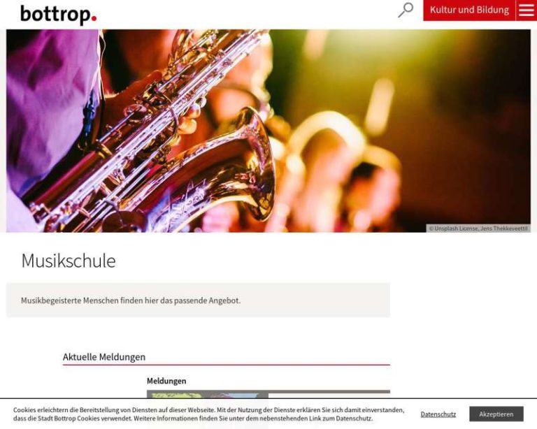 Screenshot (middle) http://www.musikschule-bottrop.de