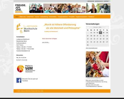 Screenshot (small) http://musikschule.bonn.de