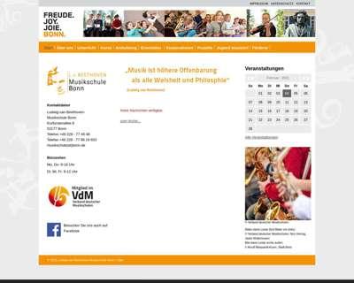 Screenshot (small) http://musikschule.bonn.de