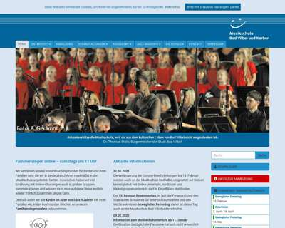 Screenshot (small) http://www.musikschule-bad-vilbel.de