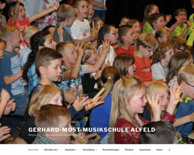 Screenshot (small) http://www.musikschule-alfeld.de