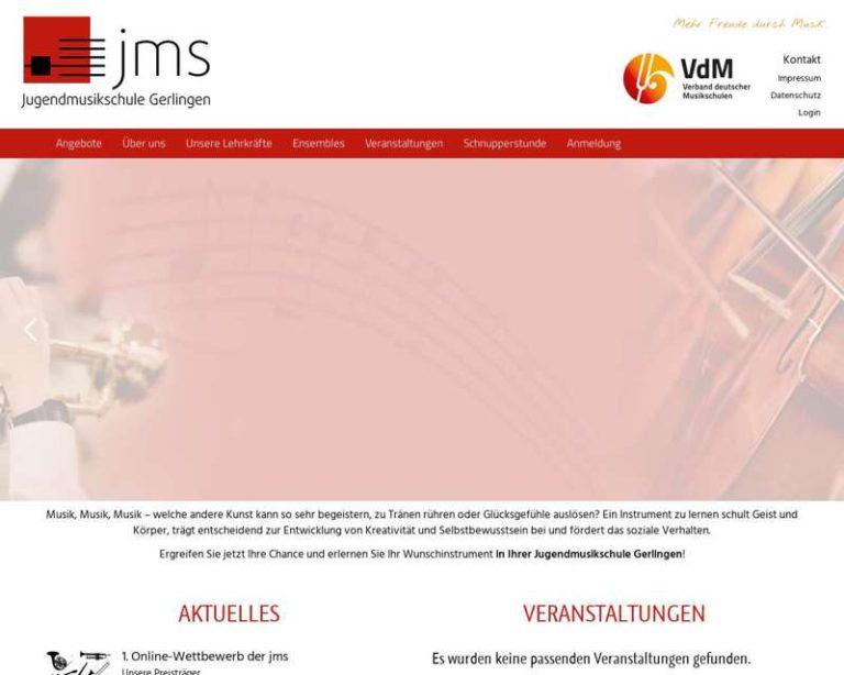 Screenshot (middle) http://www.jms-gerlingen.de
