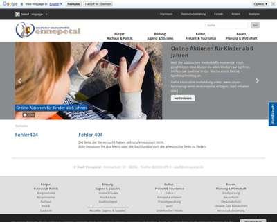 Screenshot (small) http://www.ennepetal.de/Musikschule.328.0.html