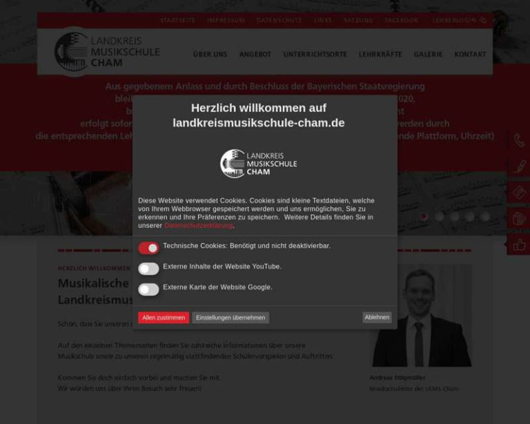 Screenshot (middle) http://www.landkreismusikschule.de