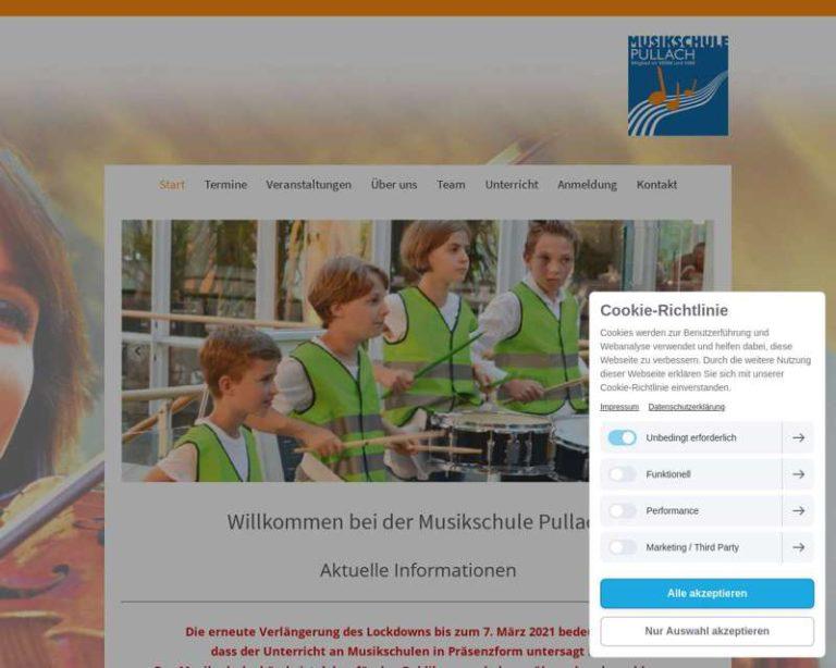 Screenshot (middle) http://www.musikschule-pullach.de
